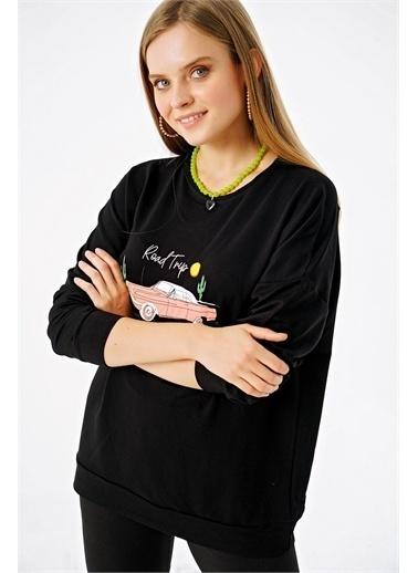 Şimal Sweatshirt Siyah